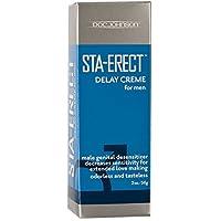 Doc Johnson Sta-Erect Delay Cream for Men