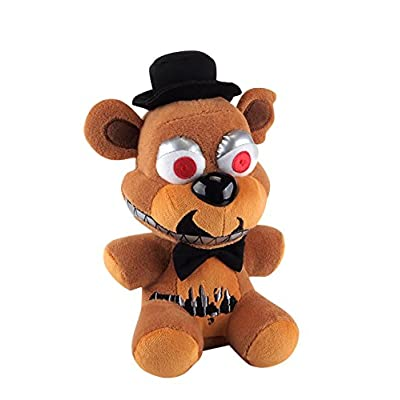 "Funko Five Nights at Freddy\'s Nightmare Freddy Plush, 6\"": Toys & Games [5Bkhe1403060]"