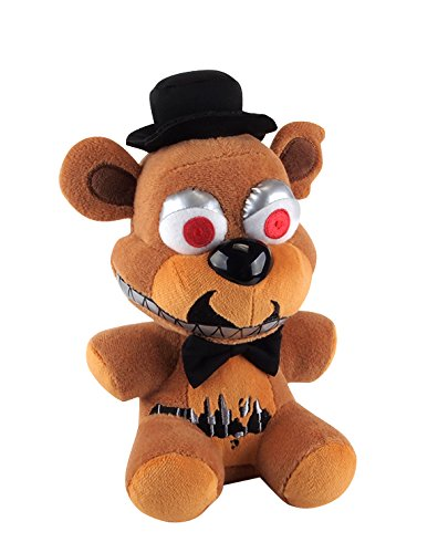 "Funko Five Nights At Freddy's Nightmare Freddy Plush 6"" 2"