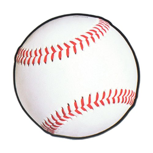 Beistle 24-Pack Baseball Cutout, 13-1/2-Inch