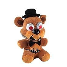 "Funko Five Nights at Freddy's Nightmare Freddy Plush, 6"""
