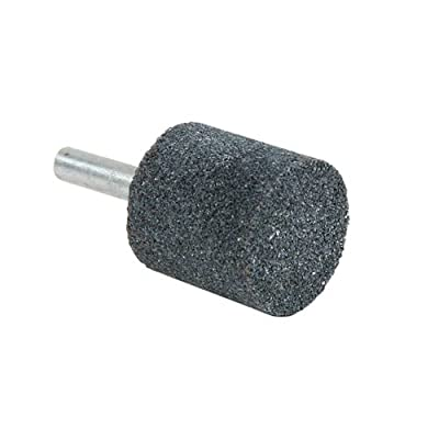 "Lincoln Electric KH127 Abrasive Mounted Point, Aluminum Oxide, 1"" x 1"" Size Diameter, A220 Size Width (Pack of 3)"