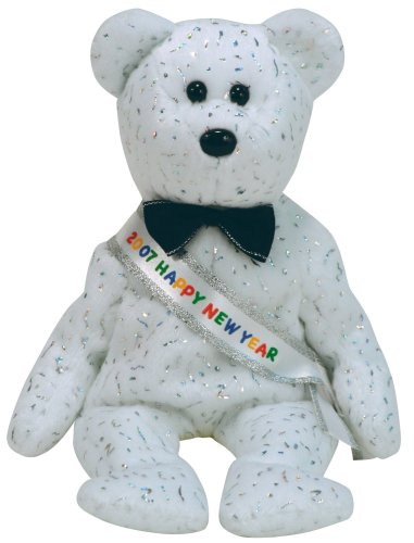 Ty Beanie Babies New Year 2007 Bear Beanie Baby ()