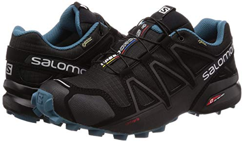 Salomon 4 Gore Nocturne De Chaussures Speedcross Course Ah18 tex Noir OqAIEwx