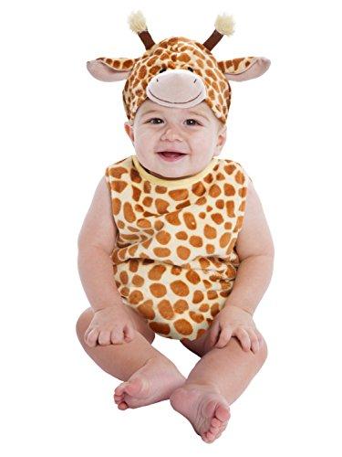 Infant & Toddler Boys & Girls Plush Baby Giraffe Halloween Costume (Halloween Costumes Giraffe)