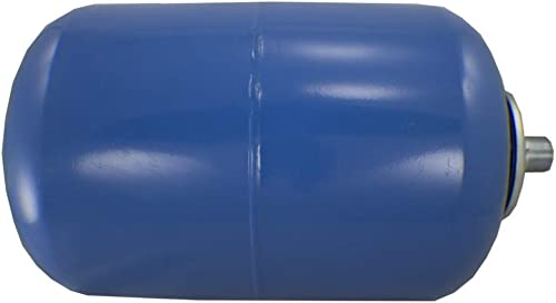 Duda Energy ExpTank-036V-PW 36 L 9.5 gallon Blue Expansion Tank for Wells Domestic Hot Water Supply Tank Thermal Pressure Protection