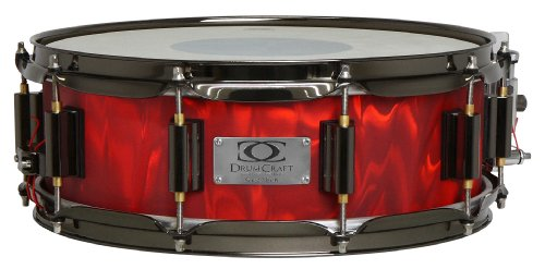 Drum Craft Series 7 DC837224 Birch 14 x 5 Inches Snare Drum, Liquid Lava by Drum Craft