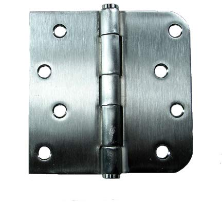 316 Marine Grade Stainless Steel Hinge - 4 Inch with 5/8 Inch Square Radius - NRP - Highly Rust Resistant - 3 - Stainless Marine 316 Grade Steel