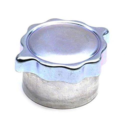 Oil Filler Neck - Aluminum Gas/Oil Tank Filler Neck with Twist-On Vented Cap