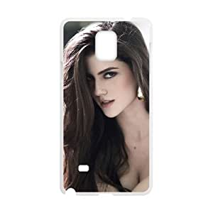 Good Phone Case With High Quality Sexy Lady Pattern On Back - Samsung Galaxy Note 4
