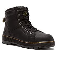 Dr. Martens Mens Duct Safety Toe 8 Eye Boot