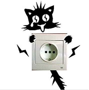 sch/önes Muster Lichtschalter Aufkleber Kinderzimmer Schalterpfosten. Kill Heart Lichtschalter Wandaufkleber Sockel Aufkleber Schalter