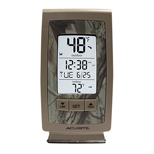 AcuRite Digital Outdoor Thermometer Intelli Time