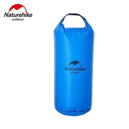 NatureHike 20L Sac étanche Ultralight Camping Randonnée à sec eau Dérive Kayak Natation Sacs FS15U020-L