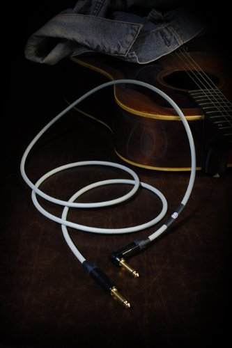 KAMINARI ELECTRIC ACOUSTIC GUITAR CABLE 15ft (5m) (Japan Import) by KAMINARI