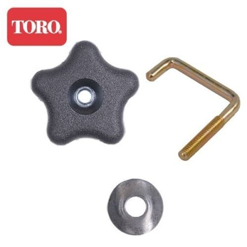 Toro Snow Blower 210 R E 38587 Handle, Bolt, and Washer Knob – 114-3779 108-4887 107-3844
