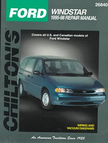 ford windstar 1995 98 chilton s total car care repair manual rh amazon com manual windstar 96 en español manual de windstar 96 gratis