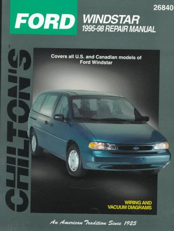 412F4FFJW4L ford windstar 1995 98 (chilton's total car care repair manual  at webbmarketing.co