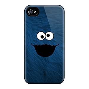 Fashionable Style Cases Covers Skin For Iphone 4/4s- Cookie Monster