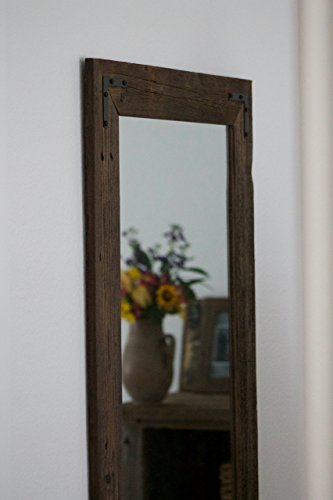 Rustic Wall Mirror - Large Wall Mirror - 24 x 36 Vanity Mirror - Bathroom Mirror - Rustic Mirror - Reclaimed Wood Mirror - Bathroom Vanity by Hurd & Honey