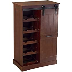 northbeam WNR0051710800 Oxford Bar Cabinet Wine, Espresso