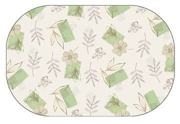 Amazon.com: Corelle Textured Leaves Placemats: Home & Kitchen
