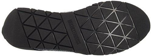 BIKKEMBERGS Herren Runn-Er 786 Low Shoe W Leather Cracked Pumps Blu (Blue/Black)