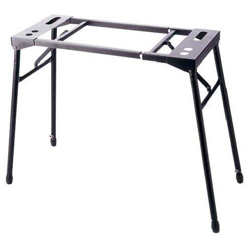 Mixerständer - Keyboardständer - E-Piano-Ständer - Geräteständer höhenverstellbar schwarz