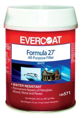 Formula 27 Filler - Fiberglass Evercoat Fibre Glass