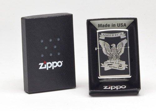 Zippo Second Amendment Eagle Lighter