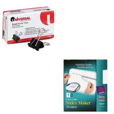 amazon com kitave11437unv10200 value kit avery index maker