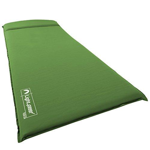lightspeed-outdoors-xl-super-plush-flexform-self-inflating-sleep-and-camp-pad-lime