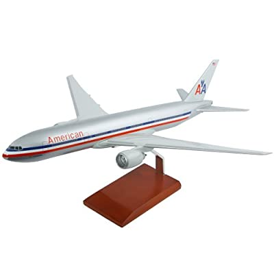 Mastercraft Collection Executive Collection American Airlines B777-200 Boeing Scale Model: 1/100