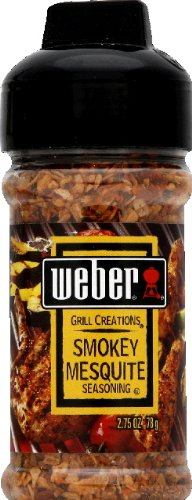 UPC 047600011098, Weber Grill Seasoning Smoky Mesquite, 2.75-Ounce (Pack of 6)