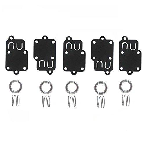 Stratton Diaphragm Kit - HURI Carburetor Diaphragm Gasket kit for 3hp thru 5hp Engines Briggs & Stratton 270026 272538 272538S 272637 4157 4168 5021