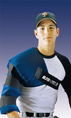 - Elite-Kold Adult Shoulder Elbow Ice Wrap for Rotator Cuff Tendonitis Bursitis DK 54