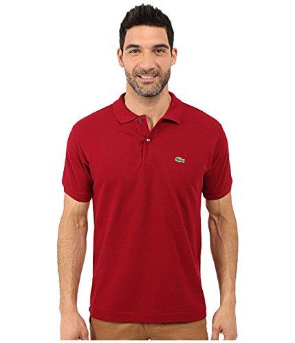 (ラコステ) LACOSTE メンズポロシャツ L1212 Classic Pique Polo Shirt [並行輸入品] B071ZYPNV6 7 (XXL)|Bordeaux Bordeaux 7 (XXL)