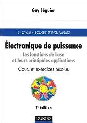 Électronique de puissance : Cours et exercices corrigés