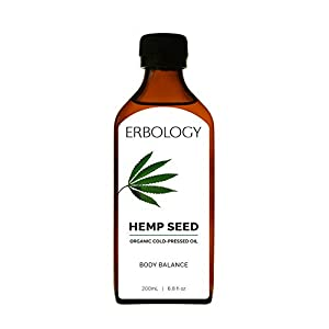 Organic Cold-pressed Hemp Seed Oil 200ml – R...