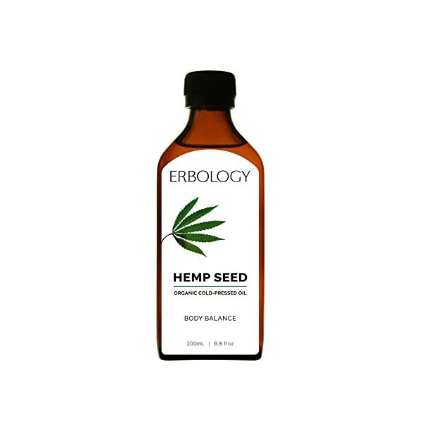 Organic Cold-pressed Hemp Seed Oil 200ml – Rich in Omega-3 and Vitamin D – Vegan – Gluten-free
