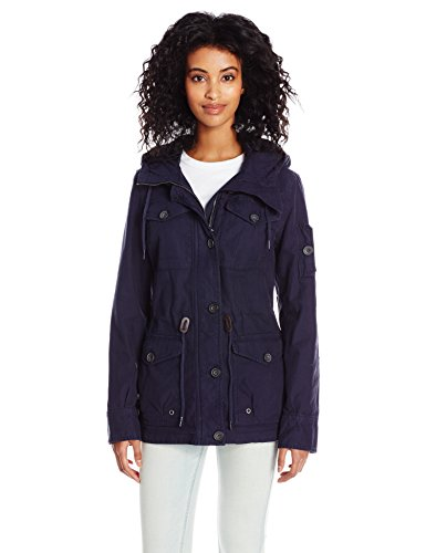 Levi's Women's Cotton Four Pocket Hooded Field Jacket 412F8lkkLOL