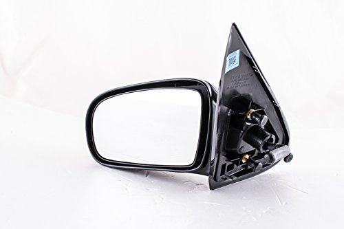 2002 Left Door Mirror - Dependable Direct Left Driver Side Unpainted Non-Heated Folding Door Mirror for Chevy Cavalier, Pontiac Sunfire Sedan (1995 1996 1997 1998 1999 2000 2001 2002 2003 2004 2005) - GM1320168