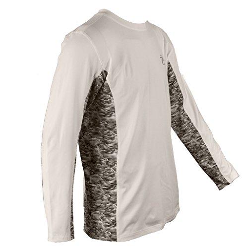 Gillz Waterman Long Sleeves, White, 2X Large (Sleeve T-shirt Free Long Reel)
