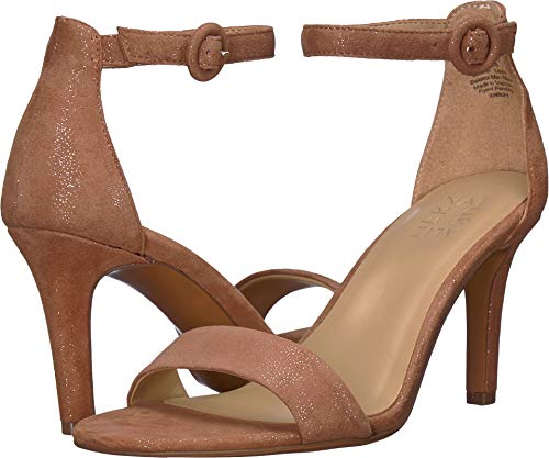 Naturalizer Women's Kinsley Saddle Tan Glittler Dust Leather 7.5 W US