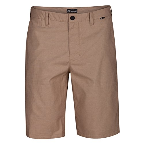 (Hurley Men's Dri-Fit Breathe Walkshorts Khaki 32 21)