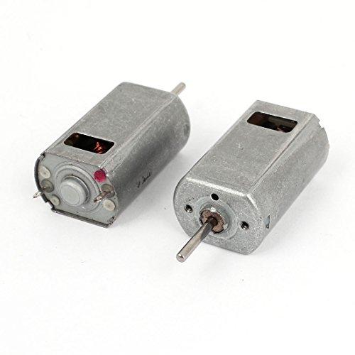 uxcell 2pcs DC1.5-9V 22400r/min Output High Torque Magnet Vibration Motor for Massager