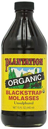 Plantation Blackstrap Molasses, Organic, 15 oz