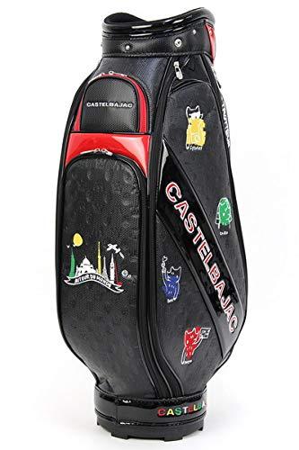 キャディバッグ メンズ レディース キャディバッグ カステルバジャック カステル バジャック スポーツ CASTELBAJAC SPORTS ゴルフ 23003-304 B07SBN3V8H ブラック(99) F(40)