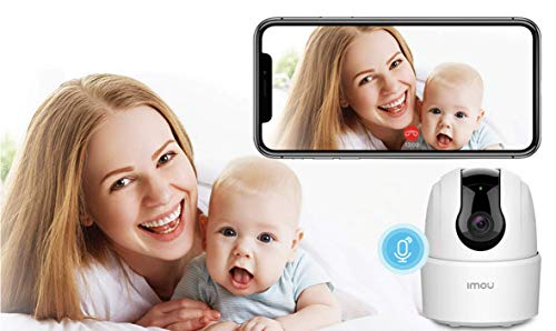 Imou Home Security Camera 1080p Baby Monitor, Wireless WiFi Camera Indoor Smart IP Camera with Night Vision, Motion Detection & Tracking, 2-Way Audio, Sound Detection for Baby/Pet/Nanny/Elderly