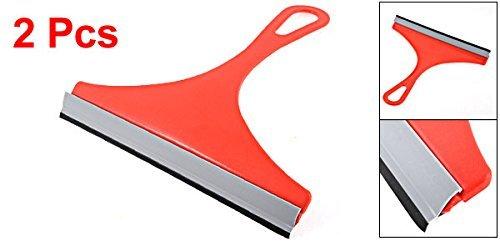 Amazon.com: Limpiador eDealMax Vehículo de Cristal de Ventana del cepillo raspador de limpiaparabrisas escobilla de goma 2pcs Rojo: Health & Personal Care